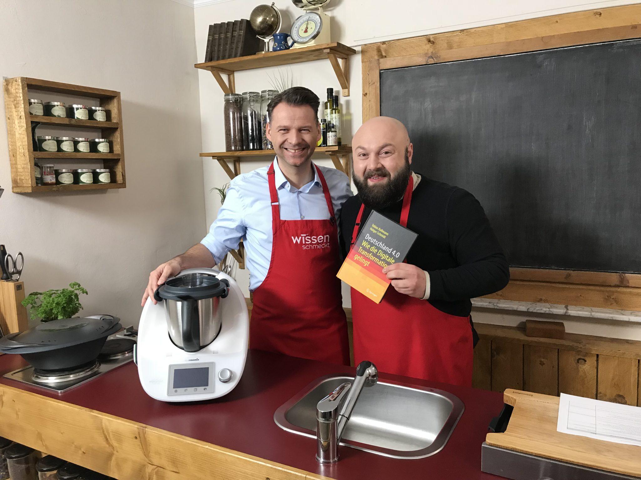 Wissen schmeckt mit Prof. Dr. Tobias Kollmann – Die Digitalisierung macht vor nichts halt – auch nicht vor der Küche!