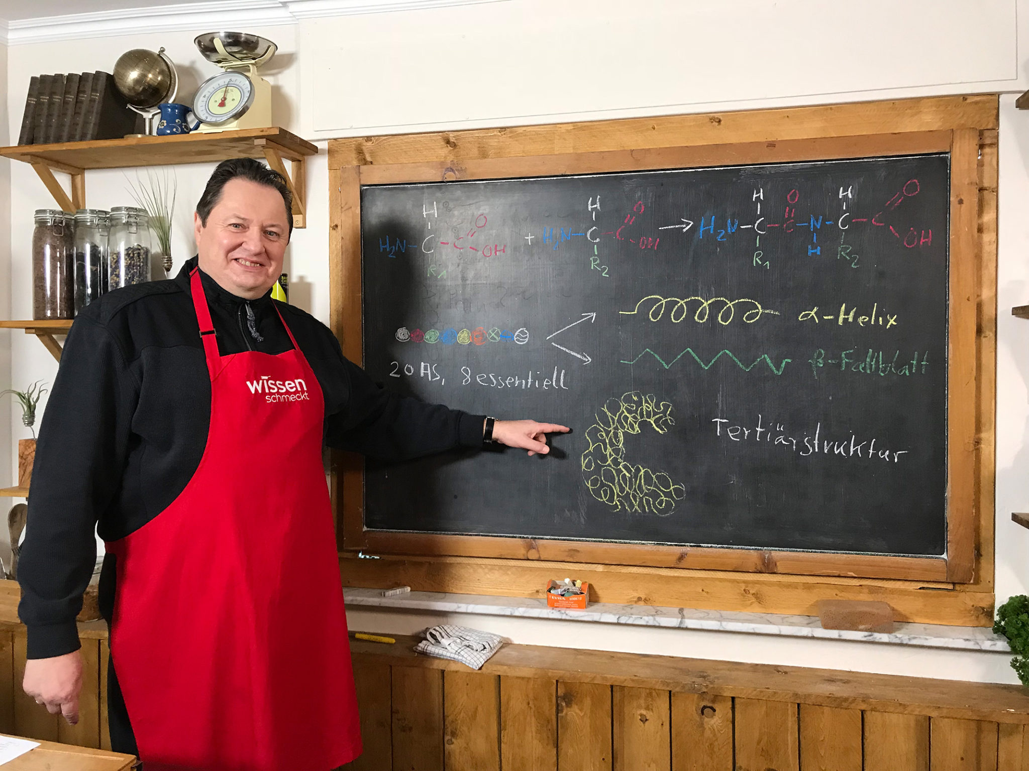 Wissen schmeckt mit Prof. Dr. Josef Felixberger – Kein Leben ohne Proteine