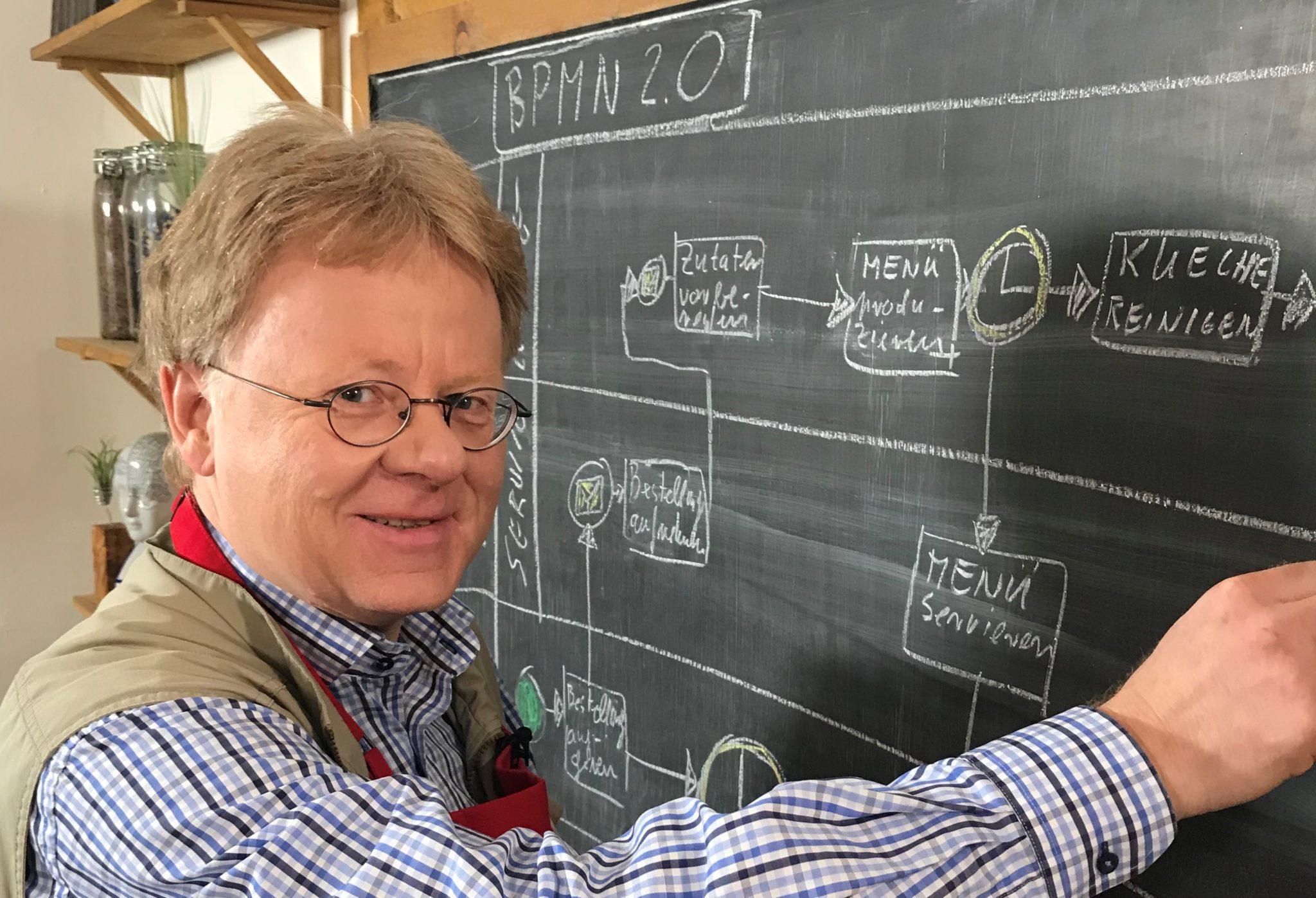 Wissen schmeckt mit Prof. Dr. Andreas Gadatsch – Kochen mit Plan